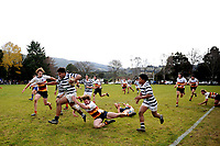 Semisi Taeiloa Tupou  in action during the Otago 1st XV secondary schools rugby union match between John McGlashan College and Otago Boys' High School at John McGlashan College in Dunedin, New Zealand on Saturday, 4 July 2020. Photo: Joe Allison / lintottphoto.co.nz