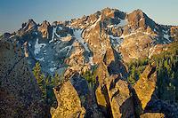 Sierra Buttes <br /> Tahoe National Forest<br /> Sierra Nevada <br /> Sierra County,  California