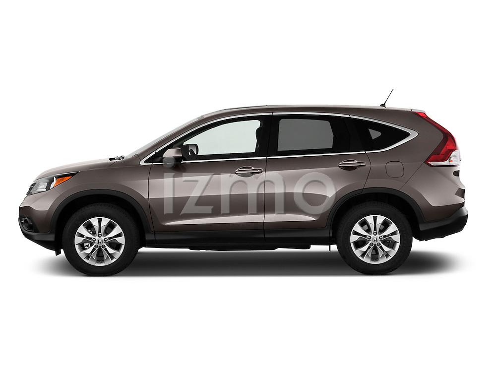 Driver side profile view of a 2012 Honda CRV EX.