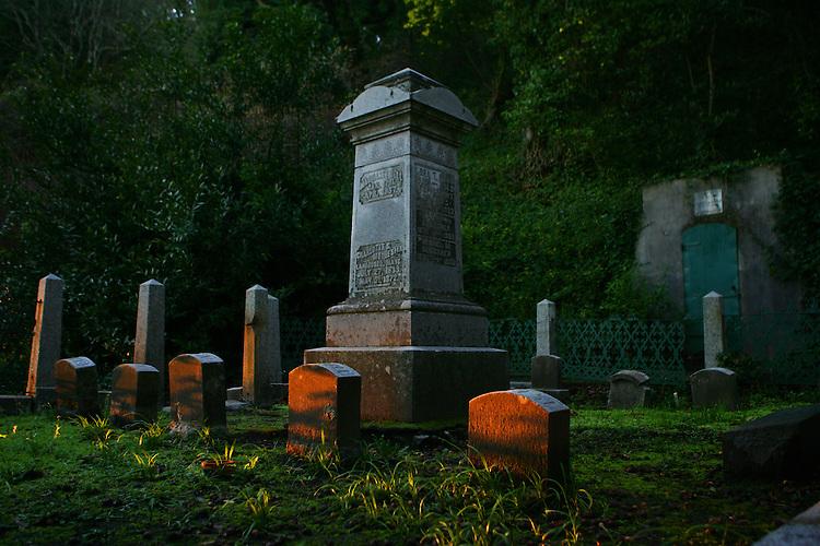 February 5, 2008; Santa Cruz, CA, USA; Sunrise at Evergreen Historical Cemetery in Santa Cruz, CA. Photo by: Phillip Carter