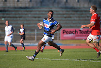 Whanganui's Kameli Kuruyabaki scores during the 2021 Heartland Championship rugby match between Whanganui and Poverty Bay at Cooks Gardens in Whanganui, New Zealand on Saturday, 18 September 2021. Photo: Dave Lintott / lintottphoto.co.nz