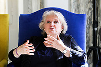 9 mars 2017 Marseille Marie Christine Barrault marraine de l association Femmes d action et d avenir