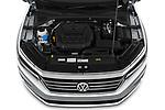 Car Stock 2020 Volkswagen Passat SE 4 Door Sedan Engine  high angle detail view