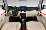 Stock photo of straight dashboard view of 2016 Citroen E-Mehari 3 Door Convertible Dashboard