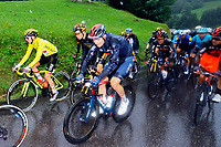 4th July 2021; Tignes, France;  COSTA Rui (POR) of UAE TEAM EMIRATES and POGACAR Tadej (SLO) of UAE TEAM EMIRATES during stage 9 of the 108th edition of the 2021 Tour de France cycling race, a stage of 144,9 kms between Cluses and Tignes on July 4