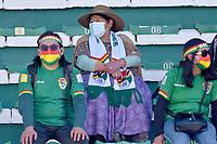 LA PAZ – BOLIVIA, 02-09-2021: Bolivia (BOL) y Colombia (COL)en partido por las Eliminatorias para la Copa Mundial de la FIFA Catar 2022 jugado en el estadio Hernando Siles en La Paz. / Bolivia (BOL) and Colombia (COL)in match for the Qualifiers for the FIFA World Cup Qatar 2022 played at Hernando Siles stadium in La Paz. Photo: VizzorImage / APG / Daniel Miranda / Cont