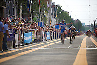 Robin Stenuit (BEL-Wanty-Groupe Gobert) wins this historic edition of the Schaal Sels (only 19 finishers).<br /> The first edition ran largely over cobbled and gravel sections. <br /> <br /> 90th Schaal Sels 2015