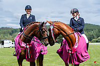 NZL-Rachel Shiree Hughes rides HP Benedict and Louise Duncan rides Wolkenstien BC. 2020 NZL-Bates Saddles NZ Dressage Championships. NEC Taupo. Saturday 21 November 2020. Copyright Photo: Libby Law Photography