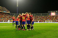 Spain's players celebrate goal during FIFA World Cup 2018 Qualifying Round match. October 6,2017.(ALTERPHOTOS/Acero) /NortePhoto.com /NortePhoto.com