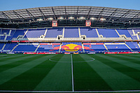 Harrison, NJ - Wednesday July 06, 2016: Red Bull Arena during a friendly match between the New York Red Bulls and Club America at Red Bull Arena.