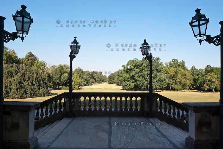 Monza, il parco visto dalla Villa Reale --- Monza, the park viewed from the Royal Villa