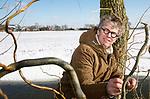 Foto: VidiPhoto<br /> <br /> MAURIK – Portret van botanist en taxonomist Marco Hoffman uit Maurik.