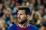 Lionel Andres Messi of FC Barcelona reacts during the La Liga match between FC Barcelona vs RCD Espanyol at the Camp Nou on 09 September 2017 in Barcelona, Spain. Photo by Vicens Gimenez / Power Sport Images
