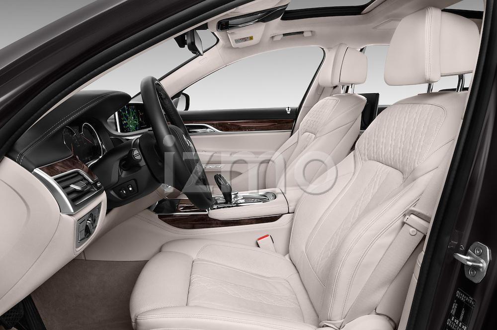 Front seat view of 2016 BMW 7-Reeks-Berline 4 Door Sedan Front Seat  car photos