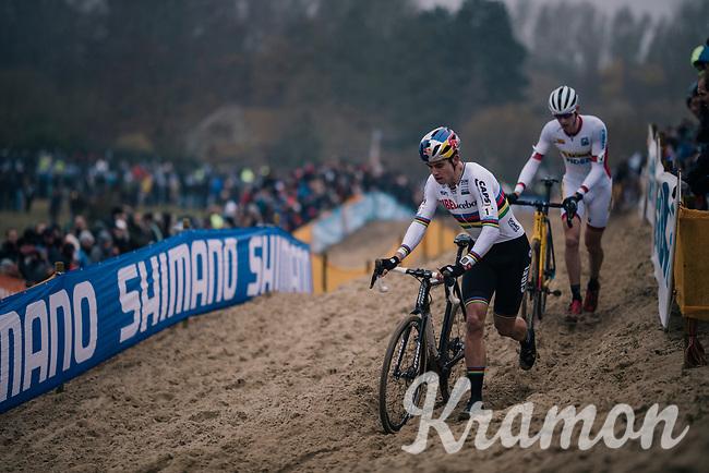 CX World Champion Wout Van Aert (BEL/Cibel-Cebon)<br /> <br /> CX World Cup Koksijde 2018