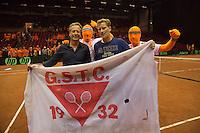 13-sept.-2013,Netherlands, Groningen,  Martini Plaza, Tennis, DavisCup Netherlands-Austria, ,   <br /> Photo: Henk Koster