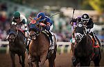 ARCADIA, CA - DECEMBER 26: Mind Your Biscuits #2 Joel Rosario wins the Malibu Stakes at Santa Anita Park on December 26, 2016 in Arcadia, California. (Photo by Alex Evers/Eclipse Sportswire/Getty Images)