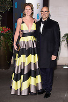 Felicity Blunt and Stanley Tucci<br /> at the 2017 BAFTA Film Awards After-Party held at the Grosvenor House Hotel, London.<br /> <br /> <br /> ©Ash Knotek  D3226  12/02/2017