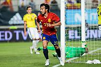 David Jimenez Silva os Spain celebrates after scoring a goal during the friendly match between Spain and Colombia at Nueva Condomina Stadium in Murcia, jun 07, 2017. Spain. (ALTERPHOTOS/Rodrigo Jimenez) (NortePhoto.com) (NortePhoto.com)