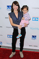 LOS ANGELES, CA, USA - APRIL 27: Marla Sokoloff, Elliotte Puro at the Milk + Bookies 5th Annual Story Time Celebration held at the Skirball Cultural Center on April 27, 2014 in Los Angeles, California, United States. (Photo by Xavier Collin/Celebrity Monitor)