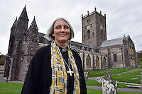 2016 11 03 Canon Joanna Penberthy first ever Church in Wales Archbishop, Wales, UK