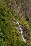 Waterfall in the Columbia River Gorge, Oregon