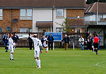 Burntisland Shipyard 0 Colville Park 7, 12/08/2017. The Recreation Ground, Scottish Cup First Preliminary Round. Colville take a throw in. Photo by Paul Thompson.