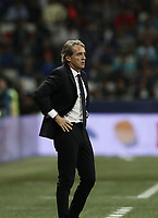 International friendly football match France vs Italy, Allianz Riviera, Nice, France, June 1, 2018. <br /> Italy's national team coach Roberto Mancini looks on during the international friendly football match between France and Italy at the Allianz Riviera in Nice on June 1, 2018.<br /> UPDATE IMAGES PRESS/Isabella Bonotto
