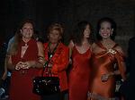 GUIA SOSPISIO, GABRIELLA BERTINOTTI, ROSI GRECO E MARISELA FEDERICI<br /> VILLA FURIBONDA ROMA 2002