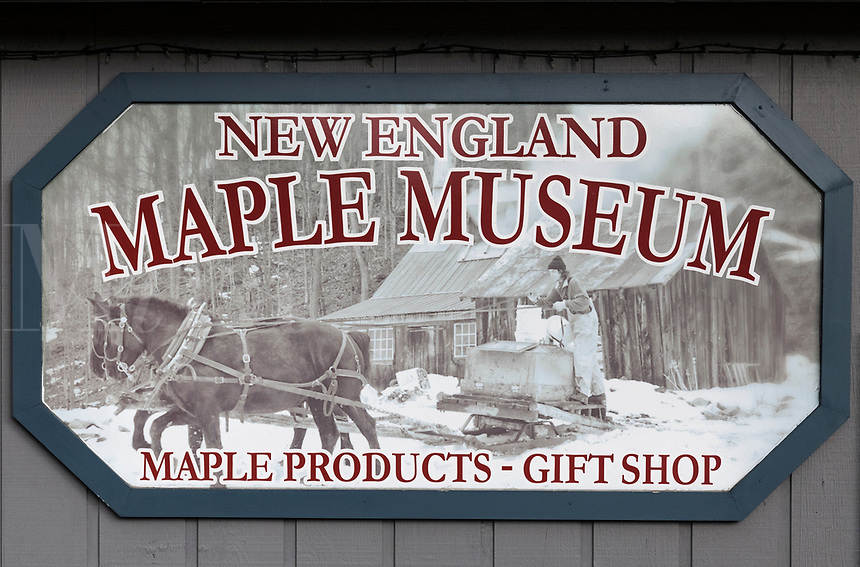 New England Maple Museum, Pittsford, Vermont, USA.