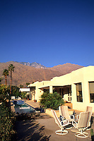 Expensive retired home for the good life in exclusive Palm Springs Californi