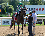 September 05, 2020: Civil Union #1, ridden by Joel Rosario, trained by  C.R. McGauhey wins the Glens Falls S. on Woodward Day at Saratoga Race Course in Saratoga Springs, New York. Rob Simmons/CSM