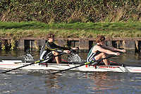 310 WRG Worcester. Wycliffe Small Boats Head 2011. Saturday 3 December 2011. c. 2500m on the Gloucester Berkeley Canal