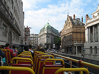 Double-decker tour of London