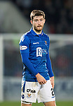 St Johnstone v Aberdeen…..24.11.19   McDiarmid Park   SPFL<br />Anthony Ralston<br />Picture by Graeme Hart.<br />Copyright Perthshire Picture Agency<br />Tel: 01738 623350  Mobile: 07990 594431