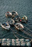 Europe/France/Bretagne/29/Finistère/Le Conquet: Le port détail des annexes des bateaux de pêche