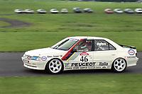 1992 British Touring Car Championship. #46 Gary Ayles (GBR). Peugeot Sport Italia. Peugeot 405Mi16.