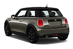 Car pictures of rear three quarter view of a 2019 Mini mini Cooper 3 Door Hatchback angular rear