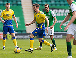 Hibs v St Johnstone…01.05.21  Easter Road. SPFL<br />Craig Bryson<br />Picture by Graeme Hart.<br />Copyright Perthshire Picture Agency<br />Tel: 01738 623350  Mobile: 07990 594431