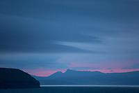 Färöer, Färöer-Inseln, Färöer Inseln, Sonnenuntergang, Faroe, Faeroe Islands, sunset, sundown, Les Îles Féroé, Nordatlantik, Atlantik, Atlantischer Ozean