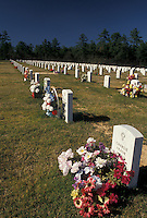 cemetery, Alabama, Phenix City, AL, Fort Mitchell National Cemetery in Phenix City.