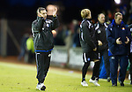 Kilmarnock v St Johnstone....15.01.11  .Derek McInnes applauds the fans at full time.Picture by Graeme Hart..Copyright Perthshire Picture Agency.Tel: 01738 623350  Mobile: 07990 594431