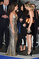 """Penelope Cruz and Kristen Wiig<br /> at the fashionable screening of """"Zoolander No.2"""", Empire Leicester Square, London.<br /> <br /> <br /> ©Ash Knotek  D3079 04/02/2016"""