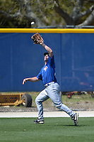 Toronto Blue Jays outfielder Thomas Collins (23) during a minor league spring training game against the New York Yankees on March 16, 2014 at Englebert Minor League Complex in Dunedin, Florida.  (Mike Janes/Four Seam Images)
