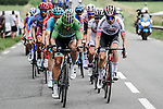 The early breakaway with Green Jersey Peter Sagan (SVK) Bora-Hansgrohe and Élie Gesbert (FRA) Arkéa-Samsic on the front during Stage 14 of the 2019 Tour de France running 117.5km from Tarbes to Tourmalet Bareges, France. 20th July 2019.<br /> Picture: ASO/Pauline Ballet | Cyclefile<br /> All photos usage must carry mandatory copyright credit (© Cyclefile | ASO/Pauline Ballet)