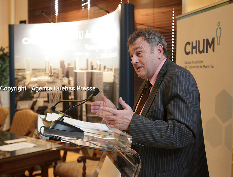 Christian Paire, General Manager,CHUM, seen in dec 2012 was removed from his function one year later.