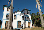 Pirenopolis, Goias State, Brazil. Igreja Matriz de Nossa Senhora do Rosário church.