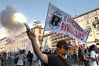 - social center Leoncavallo, demonstration in the day of expiration of the term of eviction....- centro sociale Leoncavallo, manifestazione nel giorno di scadenza del termine di sfratto