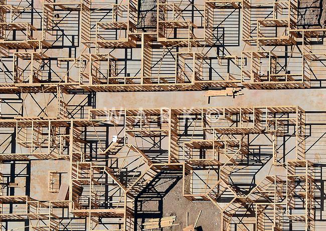 Framing of building interior