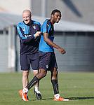 Mark Warburton and Nathan Oduwa